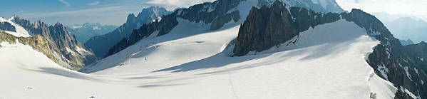 Scenics Art Print featuring the photograph Alps Mont Blanc Vall&233e Blanche by Fotovoyager