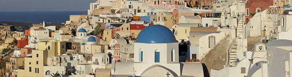 Tranquility Art Print featuring the photograph Oia Architecture by Sandra Kreuzinger