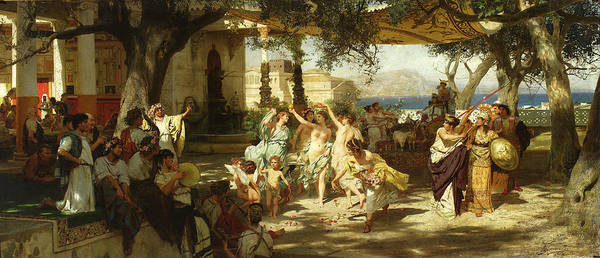 Judgement of Paris by Henryk Hektor Siemiradzki