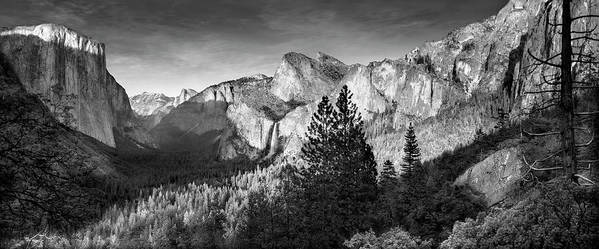 Scenics Art Print featuring the photograph Rocky Mountains Overlooking Rural by Chris Clor