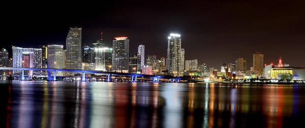 Miami Art Print featuring the photograph Miami - Florida by Brendan Reals