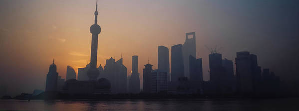 Tranquility Art Print featuring the photograph Shanghai In Early Morning by Xijia Cao