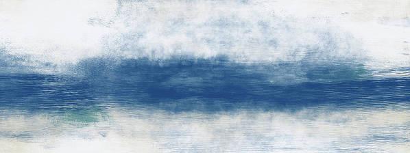 Beach Art Print featuring the mixed media Wide Open Ocean- Art by Linda Woods by Linda Woods