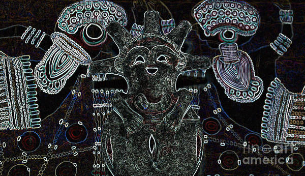 Tribal Art Print featuring the photograph Hopi by Michelle S White