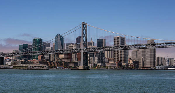 Scenics Art Print featuring the photograph Taking The San Francisco Bay Ferry To by George Rose