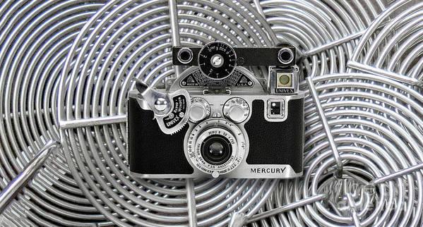 Vintage 1939 Univex Mercury Camera Art Print featuring the digital art 1939 Univex Mercury Camera by Chuck Brittenham