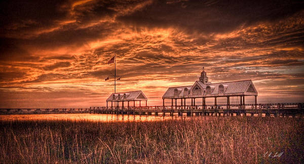 Charleston Art Print featuring the photograph Charleston View by E R Smith