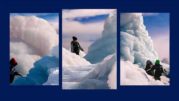 Landscape Art Print featuring the photograph The Explorers by Steve Karol