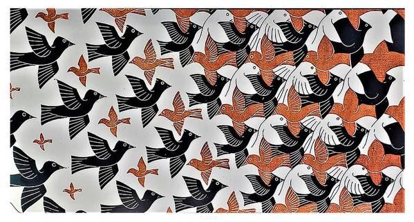 Maurits Cornelis Escher Art Print featuring the photograph Escher 7 by Rob Hans