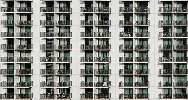 Balcony Art Print featuring the photograph Saturday Afternoon by Andreas Agazzi