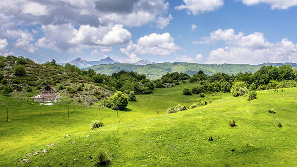 Landscape Art Print featuring the photograph Nature by Aleksandar Tomovski