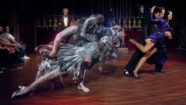 Adams Family Art Print featuring the photograph Adams Family Dance by Alan D Smith