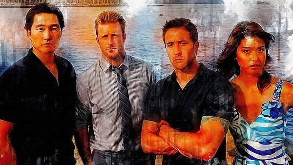 TV Show  Hawaii Five 0      5  by Larry Renee