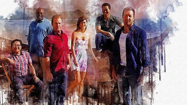 TV Show  Hawaii Five 0      7  by Larry Renee