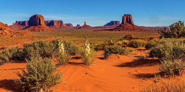 Monument Valley Art Print featuring the photograph Monument Valley by Norman Hall