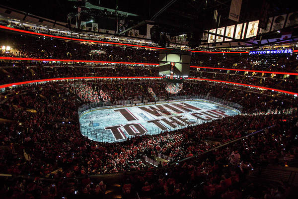 Playoffs Art Print featuring the photograph 2015 Nhl Stanley Cup Final - Game Six by Bill Smith