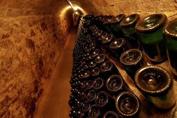 Arch Art Print featuring the photograph Catalonia Wine Region Cellars by Andrea Pistolesi