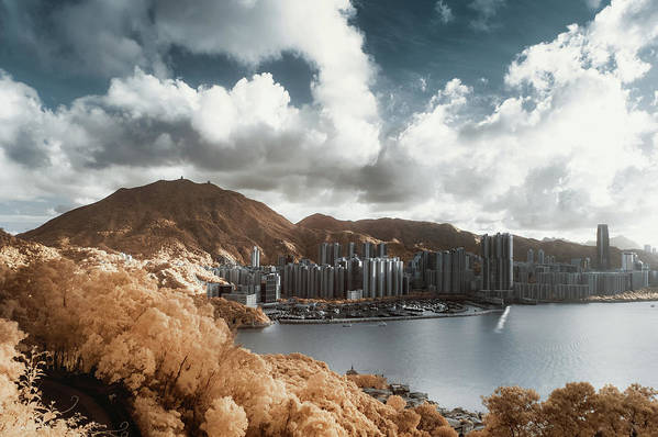 Tranquility Art Print featuring the photograph Hong Kong by D3sign