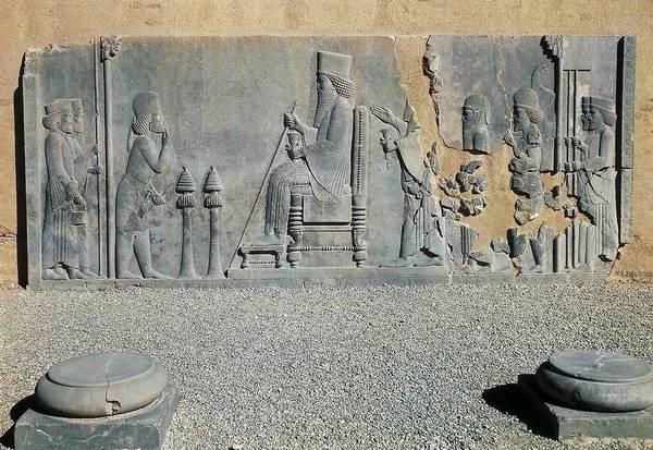 Iran Persepolis Palace Of Darius Art Print By Everett