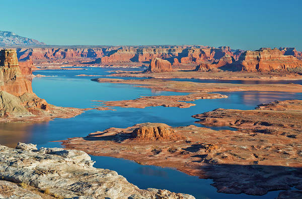 Tranquility Art Print featuring the photograph Lake Powell by Chen Su