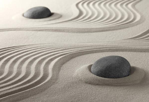 Zen Garden Art Print By Dirk Ercken