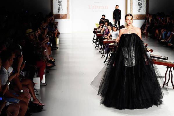 New York Fashion Week Art Print featuring the photograph Mercedes-benz Fashion Week Spring 2015 by Frazer Harrison
