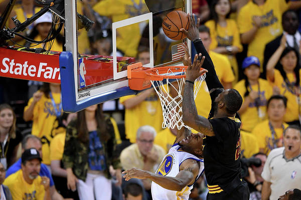 Playoffs Art Print featuring the photograph 2016 Nba Finals - Game Seven by Thearon W. Henderson