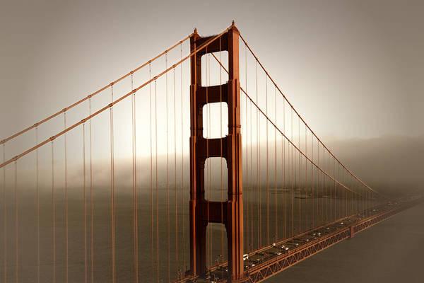 America Art Print featuring the photograph Lovely Golden Gate Bridge by Melanie Viola