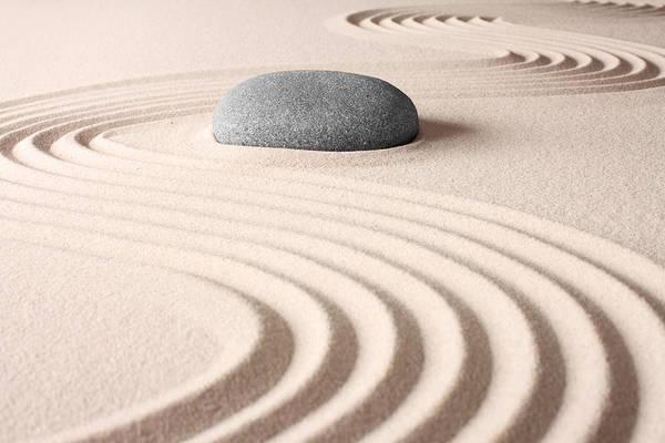 Japanese Zen Garden Art Print By Dirk Ercken