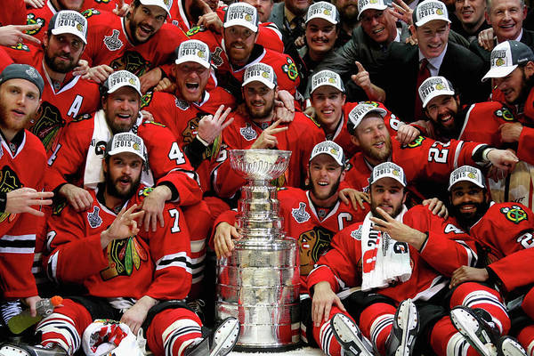 Playoffs Art Print featuring the photograph 2015 Nhl Stanley Cup Final - Game Six by Dave Sandford
