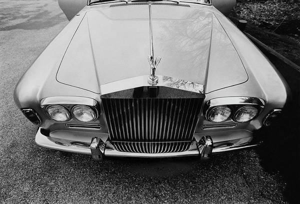 Auto Art Print featuring the photograph A 1974 Rolls Royce by Peter Levy