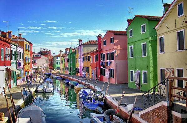 Tranquility Art Print featuring the photograph A Tour Of Burano by Diego Gutierrez