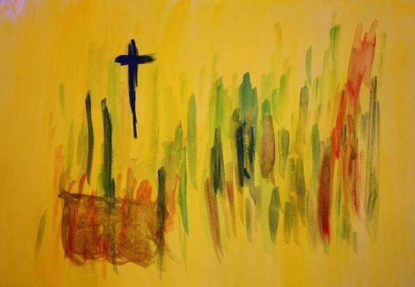 Christian Art Print featuring the painting Altar by Tom Atkins
