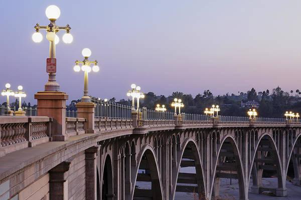 Arch Art Print featuring the photograph Arroyo Seco Bridge Pasadena by S. Greg Panosian