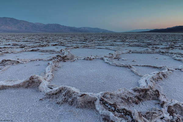 Tranquility Art Print featuring the photograph Badwater Salt Flats by Henryk Welle