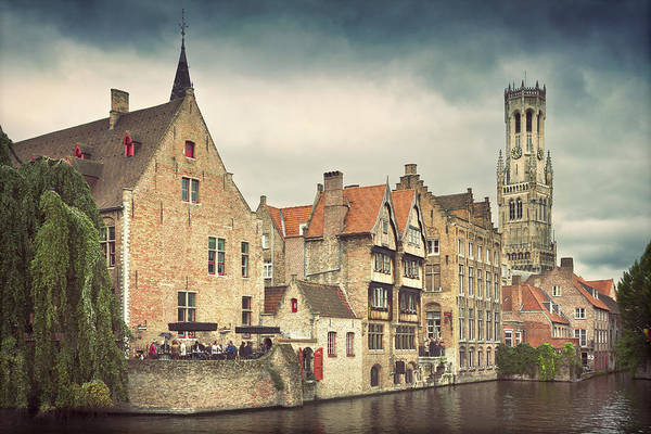 Tranquility Art Print featuring the photograph Brugge by Ellen Van Bodegom