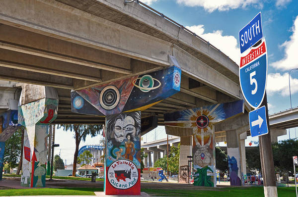 Color Art Print featuring the photograph Chicano Park by Todd Hartzo