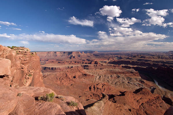 Scenics Art Print featuring the photograph Colorado River Canyon From Dead Horse by John Elk