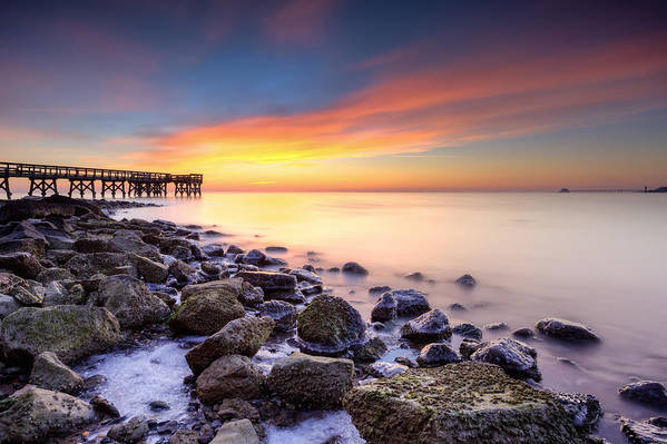 Dawn Art Print featuring the photograph everytime I wake by dKi-photography