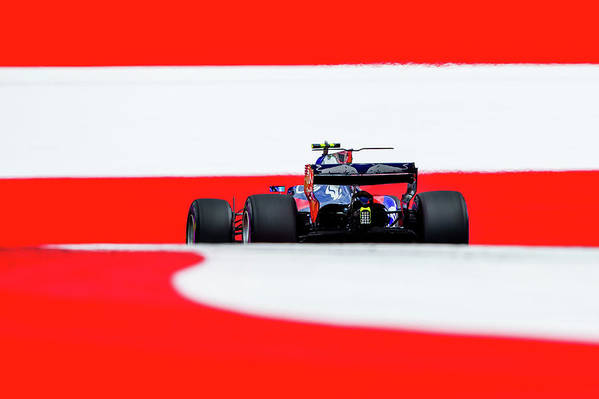 Carlos Sainz Jr. Art Print featuring the photograph F1 Grand Prix Of Austria - Qualifying by Peter Fox