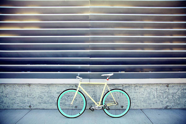 Tranquility Art Print featuring the photograph Fixie by I Love Taking Photo