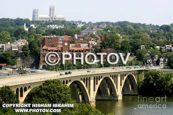 Georgetown Art Print featuring the photograph Georgetown Washington Dc - Limited Edition by Hisham Ibrahim