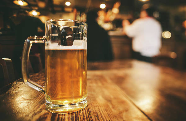Alcohol Art Print featuring the photograph Glass Of Bier, Brewery In Germany by Moreiso