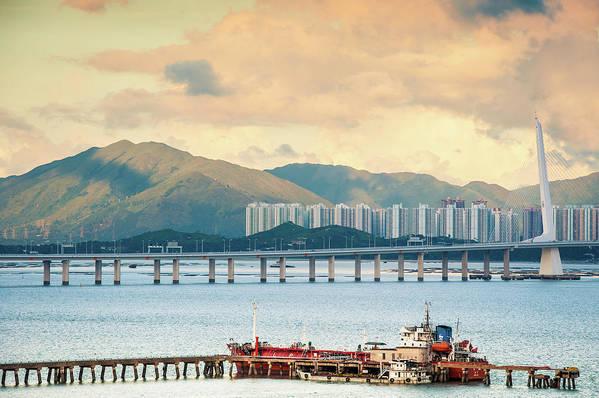 Outdoors Art Print featuring the photograph Good Morning Shenzhen & Hong Kong by Capturing A Second In Life, Copyright Leonardo Correa Luna