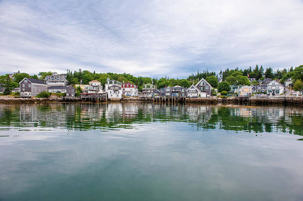Town Art Print featuring the photograph Island Village by Edwin Remsberg