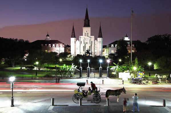 Southern Usa Art Print featuring the photograph Jackson Square by Denistangneyjr