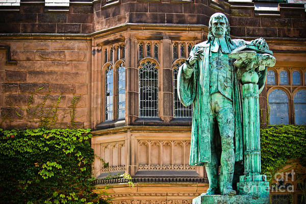 Princeton University Art Print featuring the photograph John Witherspoon - Statue by Colleen Kammerer