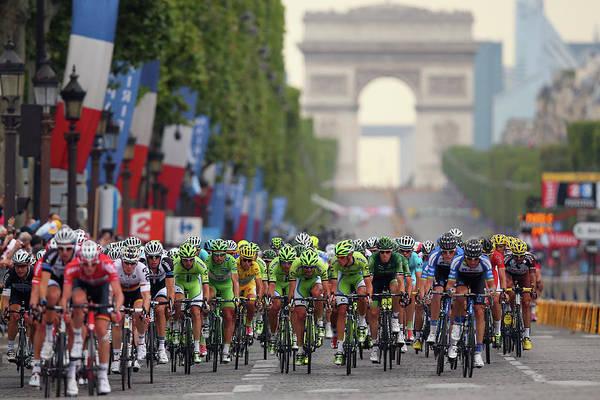 Évry Art Print featuring the photograph Le Tour De France 2014 - Stage Twenty by Bryn Lennon