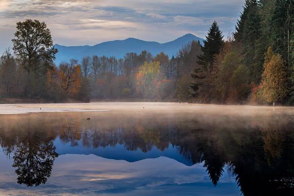 Borst Lake Art Print featuring the photograph Misty Morning by Manju Shekhar