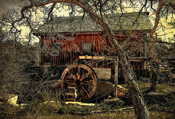 Mill Art Print featuring the photograph Old Mill by Jim Painter